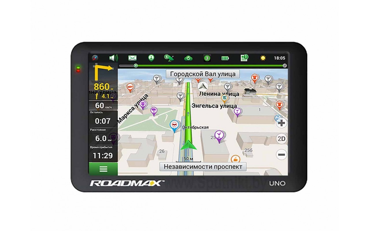 GPS Навигаторы Roadmax